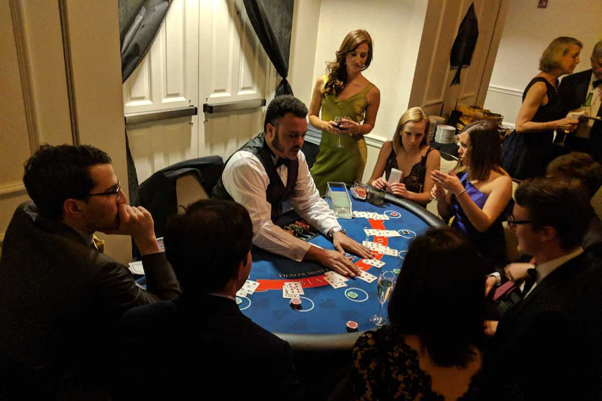 Casino Blackjack Table 2