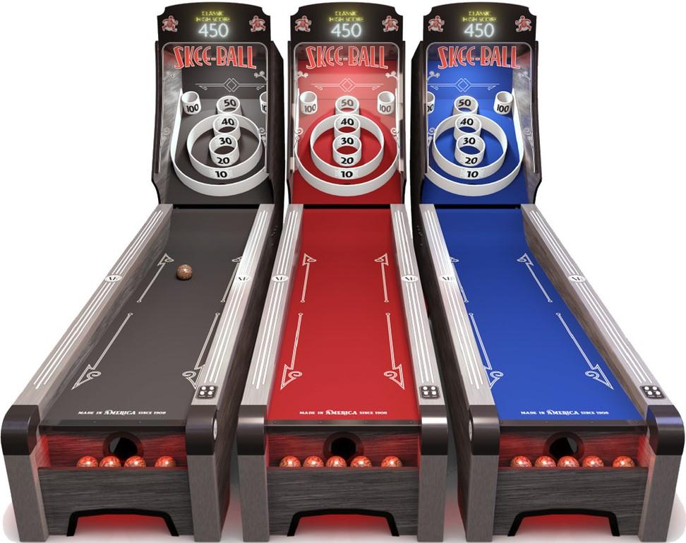 Skeeball Table