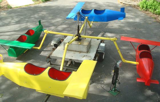 Kiddie - Airplane Ride