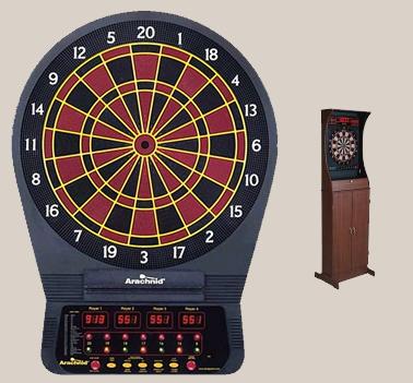 Electronic Darts Cabinet