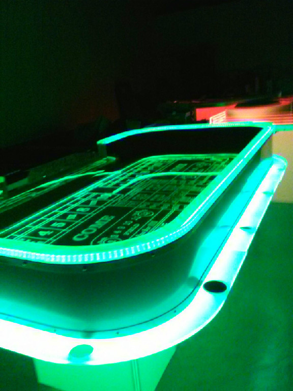 Casino LED Craps Table