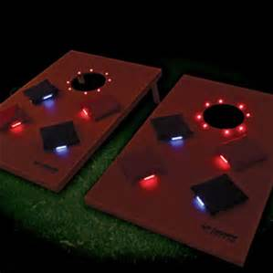 LED Corn Hole Games