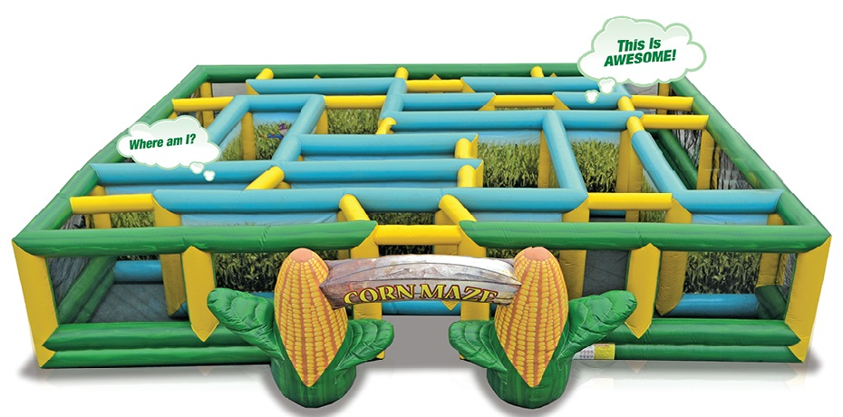 Corn Maze - Inflatable