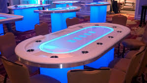 Casino LED Texas Hold'em Poker Table